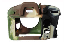 Protective Camo Silicone Armor Skin Case Camera Cover Bag for Nikon D7000 DSLR