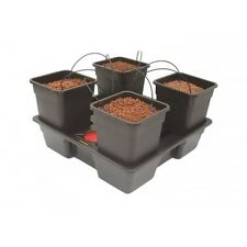 Atami wilma 4 pot complet dripper SYSTEM de croître Kit hydroponics 11Ltr pots
