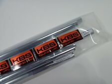 New KBS Tour 90 Iron Shafts 4-PW  Regular Flex .355 Taper Tip