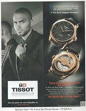 ▬► PUBLICITE ADVERTISING AD Montre Watch TISSOT Le locle Tony Parker