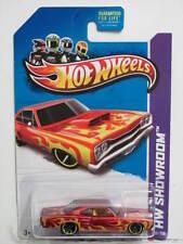 HOT WHEELS 2013  HW SHOWROOM - HEAT FLEET '69 DODGE CORONET SUPERBEE RED