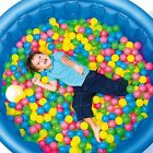 100 Colorful Ball Pit Balls Fun Ball Soft Plastic Sizzlin Cool Ocean Swim Toys