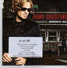 (CK237) Arno Carstens, Wonderful Wild - 2010 DJ CD