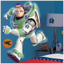 Toy Story Buzz Lightyear Giant 38 inch Removable Mural NEW! Room mates Roommates