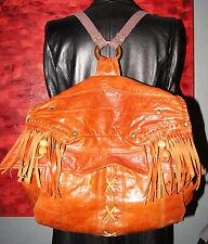 sac à main pièce unique sac à dos PIERRE CARDIN en cuir sac fait avec un blouson