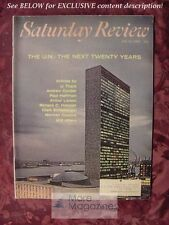 Saturday Review July 24 1965 U.N. ARTHUR LARSON U THANT CLARK M. EICHELBERGER