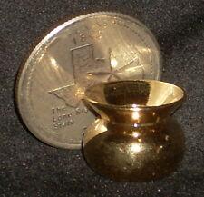 Brass Spittoon 1:12 Miniature Cowboy Western Saloon Bar Chew Tobacco  #IM65815