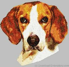 Embroidered Long-Sleeved T-Shirt - American Foxhound Dle1465 Sizes S - Xxl