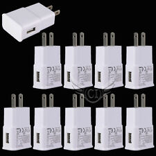 Lot 10 USB Power Adapter AC Home Wall Charger US Plug For Samsung Galaxy S6 Edge