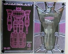 New Transformers Cloud 9 Toy W-01 Quakeblast Shockwave G1 Style Figure In Stock