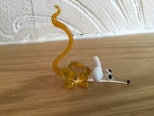 Vintage Murano Art Glass Cute Comical Mouse (No 67)