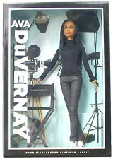 NEW 2015 Barbie Collection AVA DUVERNAY Barbie Doll Platinum Label SOLD OUT!