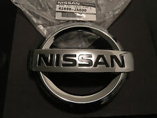 FRONT GRILLE EMBLEM NISSAN ALTIMA 2007-2012 SEDAN COUPE HYBRID DECAL NEW OEM