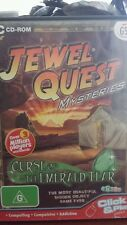 Jewel Quest Mysteries Curse of The Emerald Tear PC GAME - FREE POST
