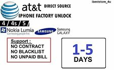 UNLOCK CODE for Samsung Galaxy Note 2 II SGH-I317 - FACTORY UNLOCK **AT&T USA**