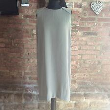 Kin by John Lewis sage green sleevless folded back dress UK size 14