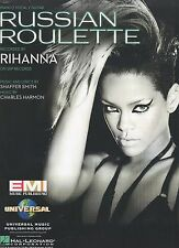 Rihanna  Russian Roulette  US Sheet Music