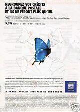 Publicité advertising 2011 La banque Postale