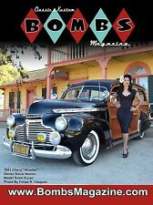 """LOWRIDER CLASSIC & KUSTOM BOMBS MAGAZINE ISSUE #2 COVER POSTER GIANT 24""""X18"""" NEW"""