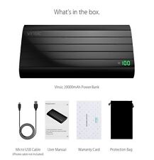 Vinsic IRON P6 20000mAh Power Bank External Battery Portable New High quality