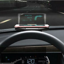 Car GPS HUD Head Up Digital Speedometer Display GPS Car Holder Mounts Navigation