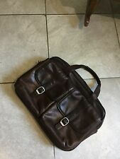 Samsonite Genuine Leather Satchel Briefcase/laptop Bag/messenger