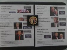 "DONALD TRUMP, ""VICTORY TOUR-THANK YOU"" AMERICA, 7 STATES, EVENT TICKETS AND COIN"