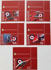50th anniversary of the Royal Air Force Gibraltar stamps, 2014, aviation, MNH