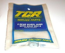 IDEAL SLOT CAR HO SCALE ( RACING TCR 2 REAR WHEEL HUBS WITH AXLE #3251-6 ) NOS