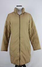 Moncler VTG Long Tan Khaki Down CLASSIC Puffer Coat w/ Quilted Interior 1