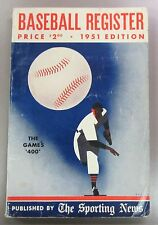 1951 The Sporting News Baseball Register