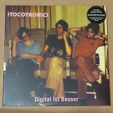 TOCOTRONIC - Digital ist besser **180gr-Vinyl-2LP** 9 Bonus-Tracks**NEW**