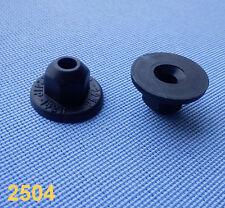 (2504) 10x Kunststoffmutter Clips Befestigung Klips Halter  Clip schwarz