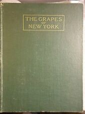 Rare Book, Great Condition. THE GRAPES OF NEW YORK by U. P. Hedrick 1908