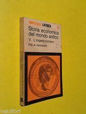 Heichelheim, F. M. - Storia economica del mondo antico: L'IMPERO ROMANO. Laterza