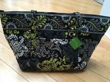 NWT Women's Vera Bradley Miller Baroque Very Large Tote Zipper travel bag RARE!
