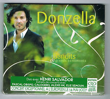 DONZELLA - BANDITS DE GRANDS SENTIMENTS - CD/DVD - 14 TITRES - NEUF NEW NEU