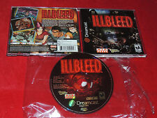 ILLBLEED SEGA DREAMCAST USA AMERICAN VERSION AIA ENGLISH COMPLETE USED RARE GOOD