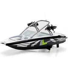 "New New Bright Radio Controlled 17""6-Volt Mastercraft Boat - 27 MHz - Black/Gray"
