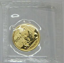 2012 1/4oz panda gold coin