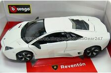 Burago Diamond Lamborghini Reventon 1:18 Diecast Matt White Model Car
