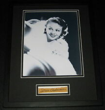 Iris Adrian Signed Framed 11x14 Photo Poster Display B
