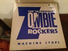 "INCREDIBLE ZOMBIE ROCKERS - MACHINE STOPS 12"" MAXI UK POST PUNK"