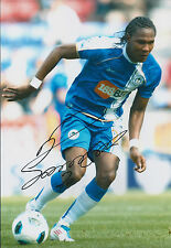 Hugo RODALLEGA SIGNED COA Autograph 12x8 Photo AFTAL WIGAN Authentic FULHAM
