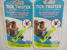 Tick Twister Tick Remover Set Small and Large For Pets Or People -Pack of 2 Sets