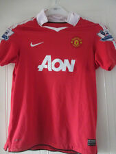 Manchester United 2010-2011 Home Football Shirt Size Large Boys  /35486