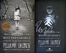 Ransom Riggs~SIGNED~Miss Peregrine's Home for Peculiar Children~1st Ed + Photos!