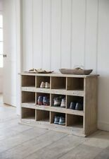 Garden Trading Chedworth Large 12 Shoe Locker Boot Room Hallway Shoes Storage