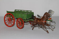 Britains Horse Drawn Farm Hay Wagon, Original