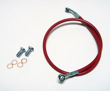 STREAMLINE REAR BRAKE LINES LINE KIT ATV RED HONDA TRX400EX TRX 400EX 400X ALL